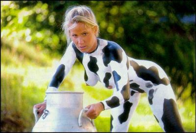 Mucca da latte sexy