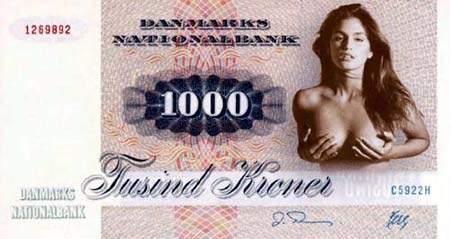 Proposta sexy per una nuova banconota