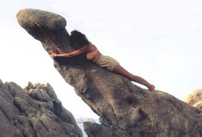 Incredibile, questa roccia sembra un pene