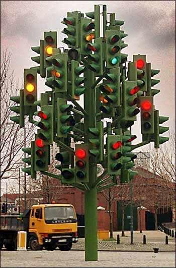 Albero di Natale o semaforo ?