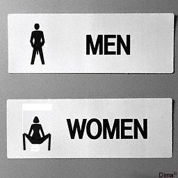 Bagni per uomini e donne