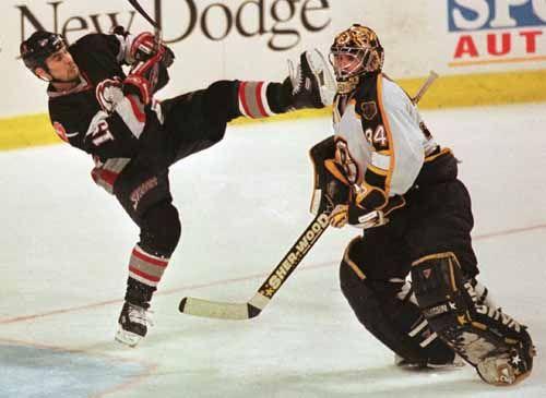 Hockey sul ghiaccio comportamento poco corretto