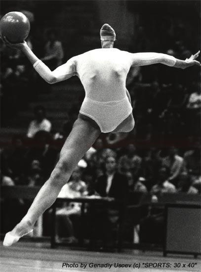 Ginnastica ritmitica …che fine ha fatto la testa dell'atleta?