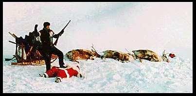 Babbo Natale è stato ucciso con le sue renne