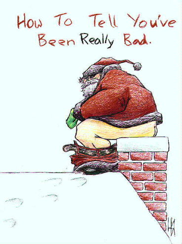 Ecco cosa porta Babbo Natale ai bambini che sono stati molto cattivi