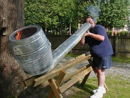 Pipa gigante per fumate di gruppo