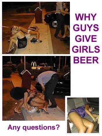 Le donne non reggono la birra