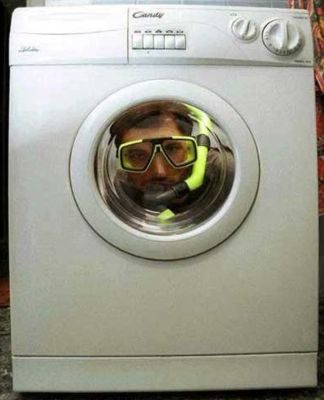 E poi dicono che gli uomini non sanno fare la lavatrice