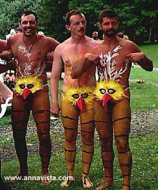 Costumi tradizionali di carnevale