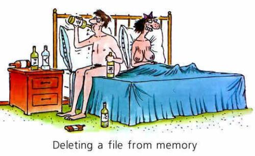 Cancellare i file dalla memoria