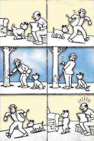 Insegnare a fare la pipì al cane