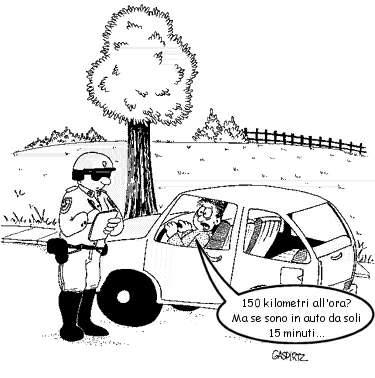 Cosi si inventa per non avere una multa dell'autovelox