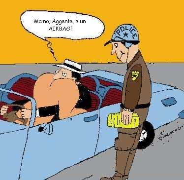 Sesso in auto o airbag ?