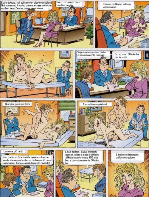 Amanti fanno sesso dal dottore