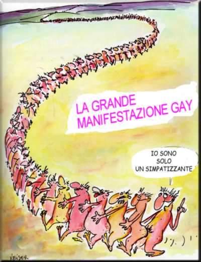 Manifestazione Gay