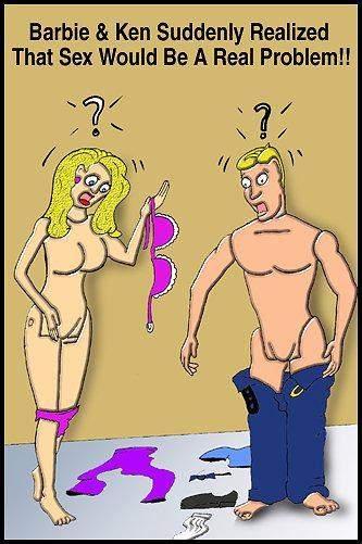 Per barbie e Ken il sesso è un vero problema