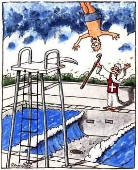 Apritevi acque. Ma in piscina può essere pericoloso