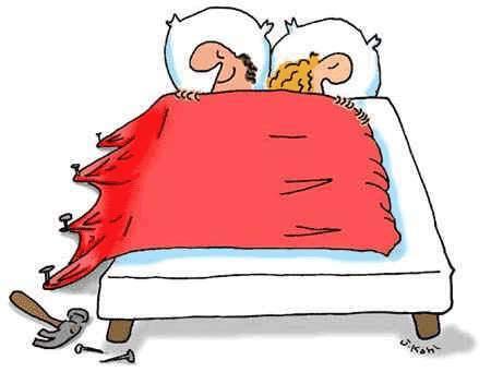 Soluzione per dormire in serinità con la moglie
