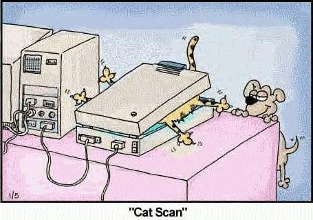 dimostrazione del Cat Scan